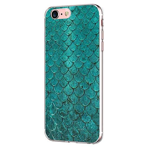 Pacyer Case kompatibel mit iPhone 7 Hülle iPhone 8 Hülle Silikon Ultra dünn Transparent Handyhülle Durchsichtige Rückschale TPU Schutzhülle für Apple iPhone 7/8 Cover Marmor (12) -