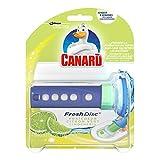 Canard WC Fresh Disc Nettoyant Fraîcheur Citron Vert 36 ml - Lot de 2