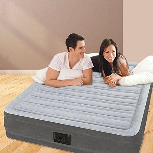 "Intex 12-67768 Luftbett Comfort-Plush MID ""Full"", 230 V inklusiv eingebauter Luftpumpe, 137 x 191 x 33 cm - 2"