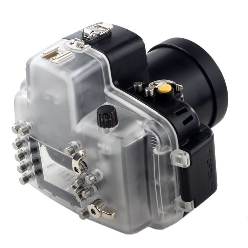 Mcoplus - High Performance Underwater Case Camera Housing Diving For Nikon D7000 Up To 40 Meters(130ft.)