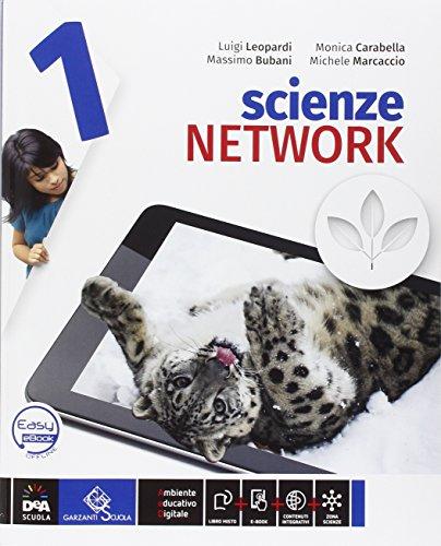 Scienze network. Ediz. curricolare. Per la Scuola media. Con DVD-ROM. Con e-book. Con espansione online: 1