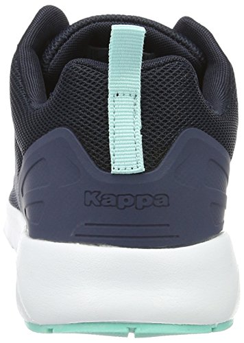 Kappa Classy, Scarpe da Ginnastica Basse Donna Blu (Navy/white)
