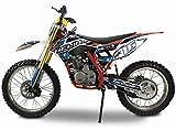 Pitbike Motocicletta da Motocross 250cc NCX Moto Helios Rosso