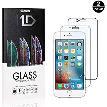 6S 6S Bear Village/® iPhone 6 7//8-1 St/ück 7//8 Displayschutzfolie 9H Hart Schutzfilm aus Geh/ärtetem Glas Ultra-klar Displayschutz Schutzfolie f/ür Apple iPhone 6