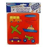 Crafty Bitz Per bambini solido stencil Pack–trasporto