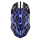 MP power @ 3200 DPI 9 Tasten USB Wired Gaming Maus Mouse für Pro Gamer Spieler