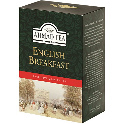 Ahmad Schwarzer Tee English Breakfast lose 250g Schwarztee London pure Tea