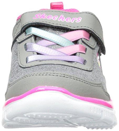 Skechers - Appeal Lil Flyer, Sneakers per bambine e ragazze grigio (gris/menthe)