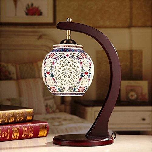 Keramische Lampe Chinesische klassische warme Dekoration-Lampe