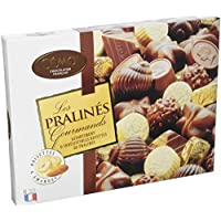 Cémoi boîte assortiment de chocolat pralinés gourmands 400 g, lot de 2
