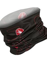 Castelli - Lw Head Thingy, color rojo,negro