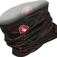 Castelli Lw Head Thingy, color rojo,negro