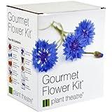 Plant Theatre Gourmet Flower Kit 6-Edible Flower Varieties to Grow