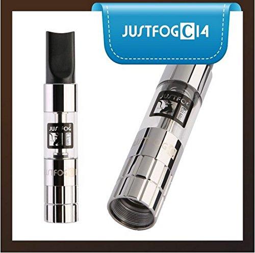 Justfog C14 Atomizzatore Ottone Cromato e PC Organic Cotton Prodotto Senza Nicotina