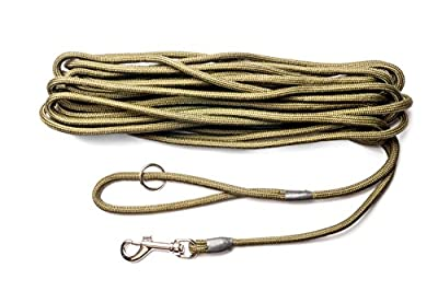 Dog & Field 2in1 10 Meter Training/Exercise Dog Lead - Super Soft Braided Nylon from Dog & Field
