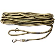 Dog & Field 2in1 10 Meter Training / Exercise Dog Lead - Super Soft Braided Nylon