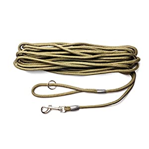 Dog-Field-2in1-10-Meter-TrainingExercise-Dog-Lead-Super-Soft-Braided-Nylon