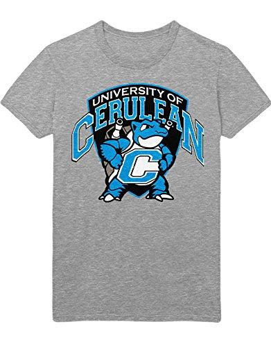 T-Shirt Poke Turtok University of Cerulean C112262 Grau M