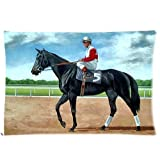51onGPWbRXL. SL160  UK BEST BUY #1PbP Top Sale Ruffian Race Horse Custom Zippered Pillow Cases 20 Inch X 30 Inch(Twin Sides) Cover price Reviews uk