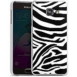 Samsung Galaxy A3 (2016) Housse Étui Protection Coque Zèbre Animal Jungle