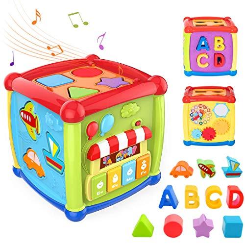 Tumama Juguetes de Cubo de Actividad para bebés