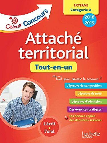 Objectif Concours 2018 Attaché territorial (concours externe) par Gwénaël Gonnin