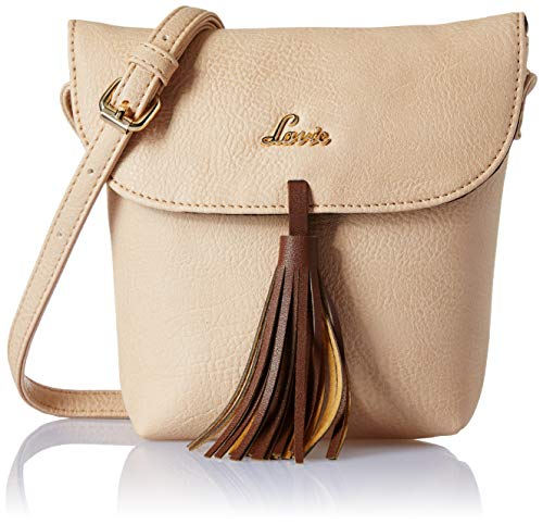 Lavie Cetan Women's Sling Bag (Beige)