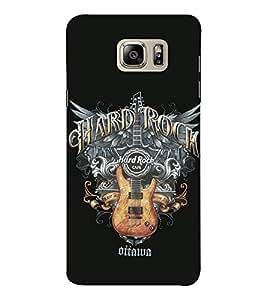 EPICCASE Hard Rock Café Mobile Back Case Cover For Samsung Note 6 (Designer Case)