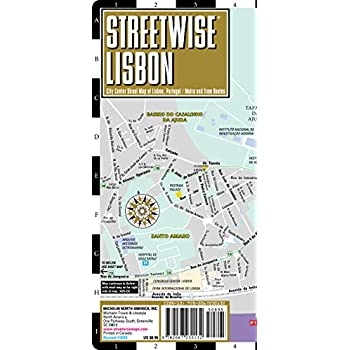 Plan StreetWise Lisbonne