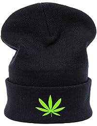 Gusanos de invierno Beanie Hat Hombres de las mujeres de gran tamaño Baggy Sombreros fácil Swag Meow mal pelo día