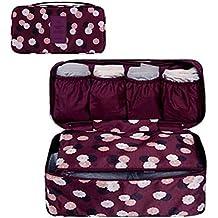 GossipBoy Neceser multiusos, con divisores para almacenar ropa interior, para sujetadores y braguitas,