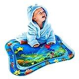 Wassermatte Baby, Swonuk 66*50CM Frei-BPA Wasser-Spielmatte mit Spaß Aktivitätszentrum von Spielzeug Das Wachstum von Kindern Stimulieren Aufblasbare und Wasserfüllung Wasserpark des Frühen Kindes
