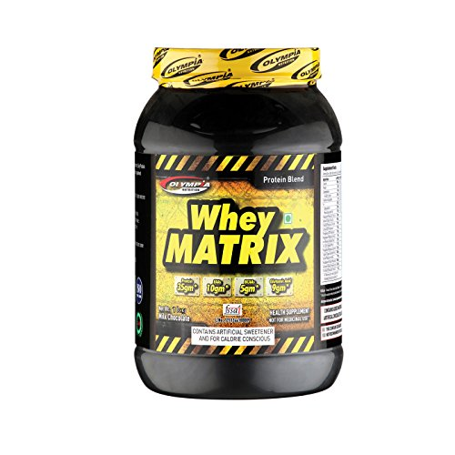 Olympia Whey Protein Matrix Chocolate Flavour 1Kg For Unisex