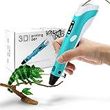 StillCool 3D Stift 3D Drucker Stift DIY Scribbler 3D Stereoscopic Printing Pen mit LCD als kreatives Geschenk für Erwachsene Jung und Alt