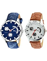 On Time Octus Combo Of 2 Analog Watch For Boys And Mens- OT-206-211
