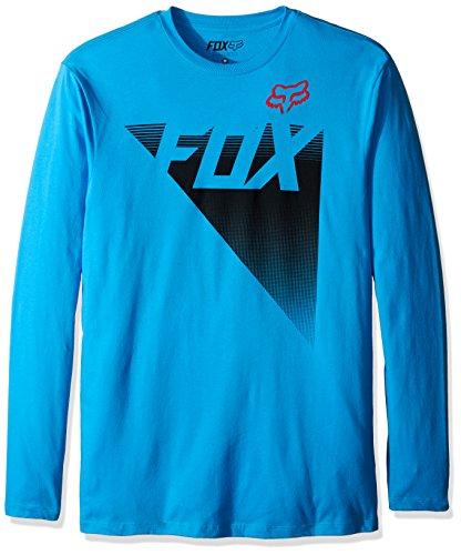 Fox Longsleeve Shirt Destro Blau Blue