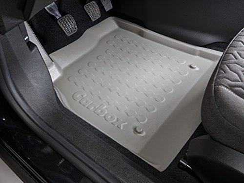 Fussraumschalen Fussmatten Fahrerseite grau nur passend für das in der Beschreibung genannte Fahrzeug.