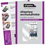 dipos I 2X Schutzfolie klar kompatibel mit Huawei Ascend G510 Folie Displayschutzfolie