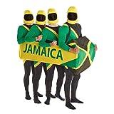 Morph Costumes MCCULJBOB1 - Jamaikanisch Bobsled Kostüm nur Schlitten eine Größe