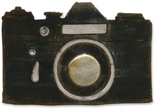 Sizzix Vintage Kamera von Tim Holtz Bigz Stanzschablone, schwarz