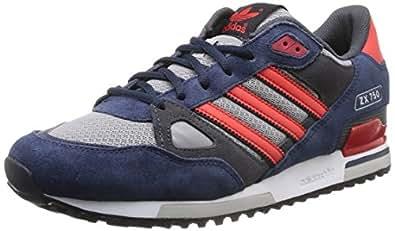 Adidas B39989, Running Homme - Multicolore (Conavy/Red/Dgsog), 47.33 EU