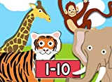 Learn to Count 1 to 10 with Number Zoo