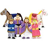 Melissa & Doug Royal Family Wooden Doll Set #0286