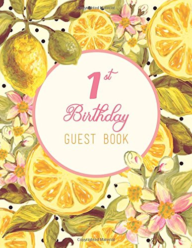1st-birthday-guest-book-extra-large-guest-book-100-pages-85-x-11-pink-yellow-fruit-and-flowers-water