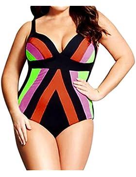 Bikini mujer push up talle alto Nergo 2017 SHOBDW Traje de baño talla grande