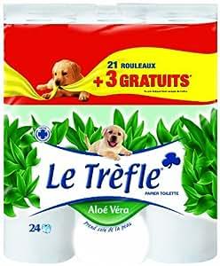 le tr 232 fle 406656 papier toilette aloe vera 21 3 gratuit fr hygi 232 ne et soins