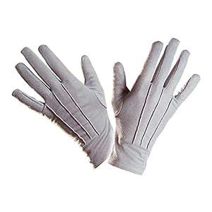 Gants gris magicien vampire mage gants gant main carnaval mardi gras déguisement accessoire