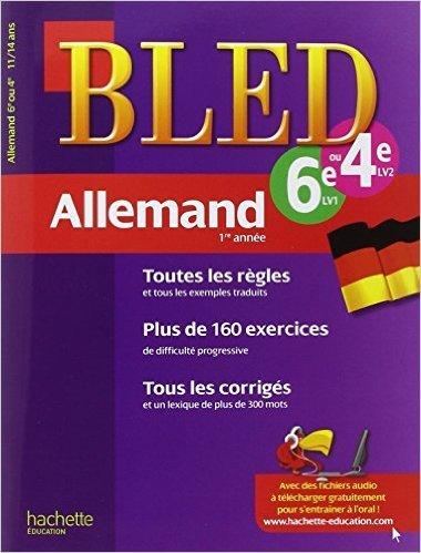 Cahier Bled - Allemand 1re année de Marie-Christine Despas ( 11 janvier 2012 )