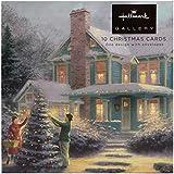 Hallmark - Biglietti di Natale, motivo: Thomas Kinkade, 10 pezzi [lingua inglese]
