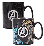 Half Moon Bay Tasse Marvel Avengers changeant de Couleur 400 ML
